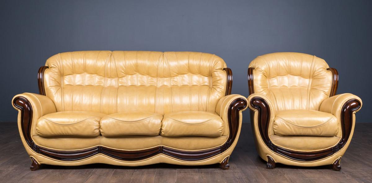 """Необычный комплект мягкой мебели """"Джове"""""""