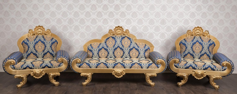 """Купити комплект м'яких меблів у стилі барокко """"Барселона"""", В наявності"""