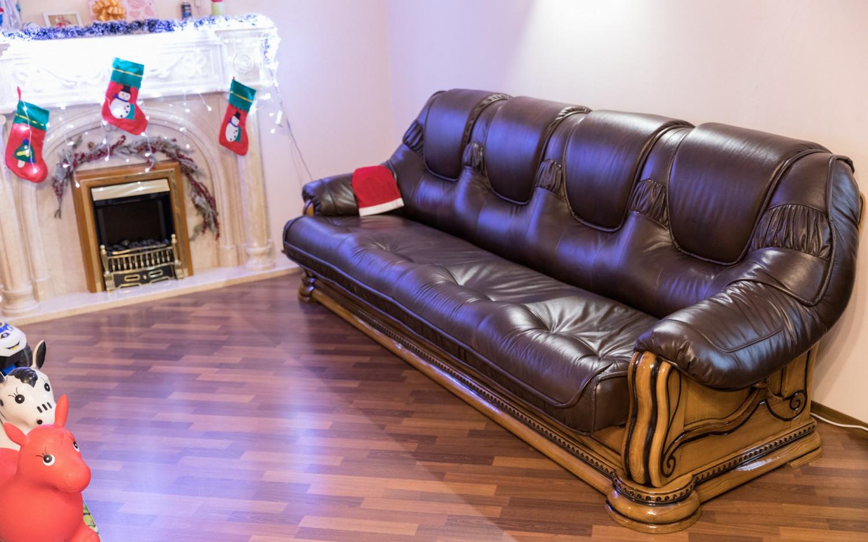 """Прямой четырехместный диван """"Гризли"""", на заказ"""
