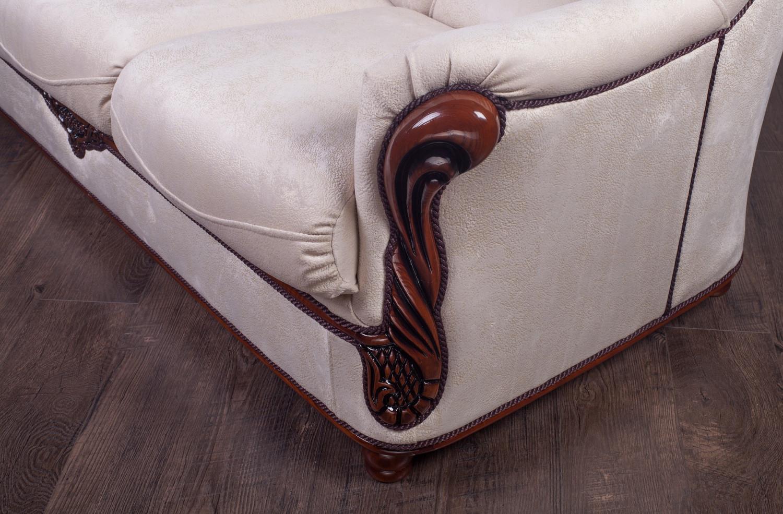 """Классический прямой диван """"Орхидея"""" под заказ"""