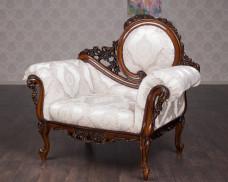 """Мягкое резное кресло """"Софа"""""""
