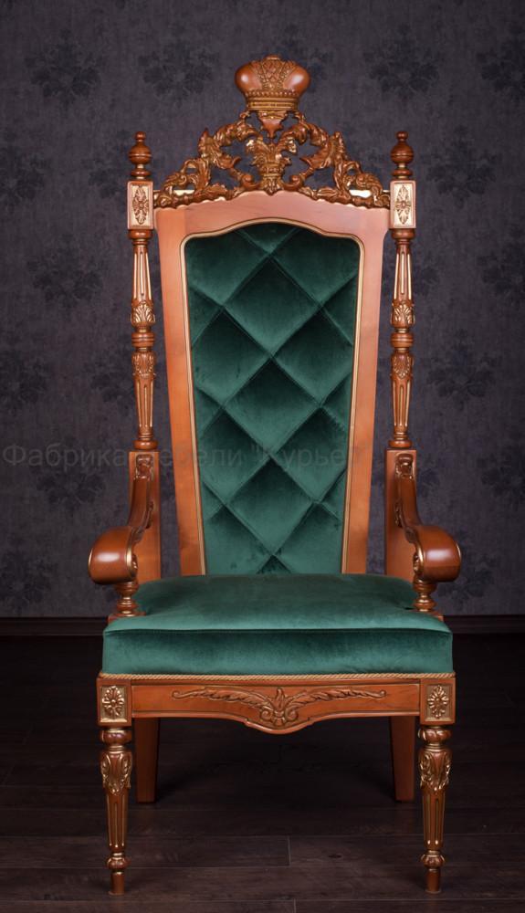 Мягкое кресло трон в наличии и под заказ