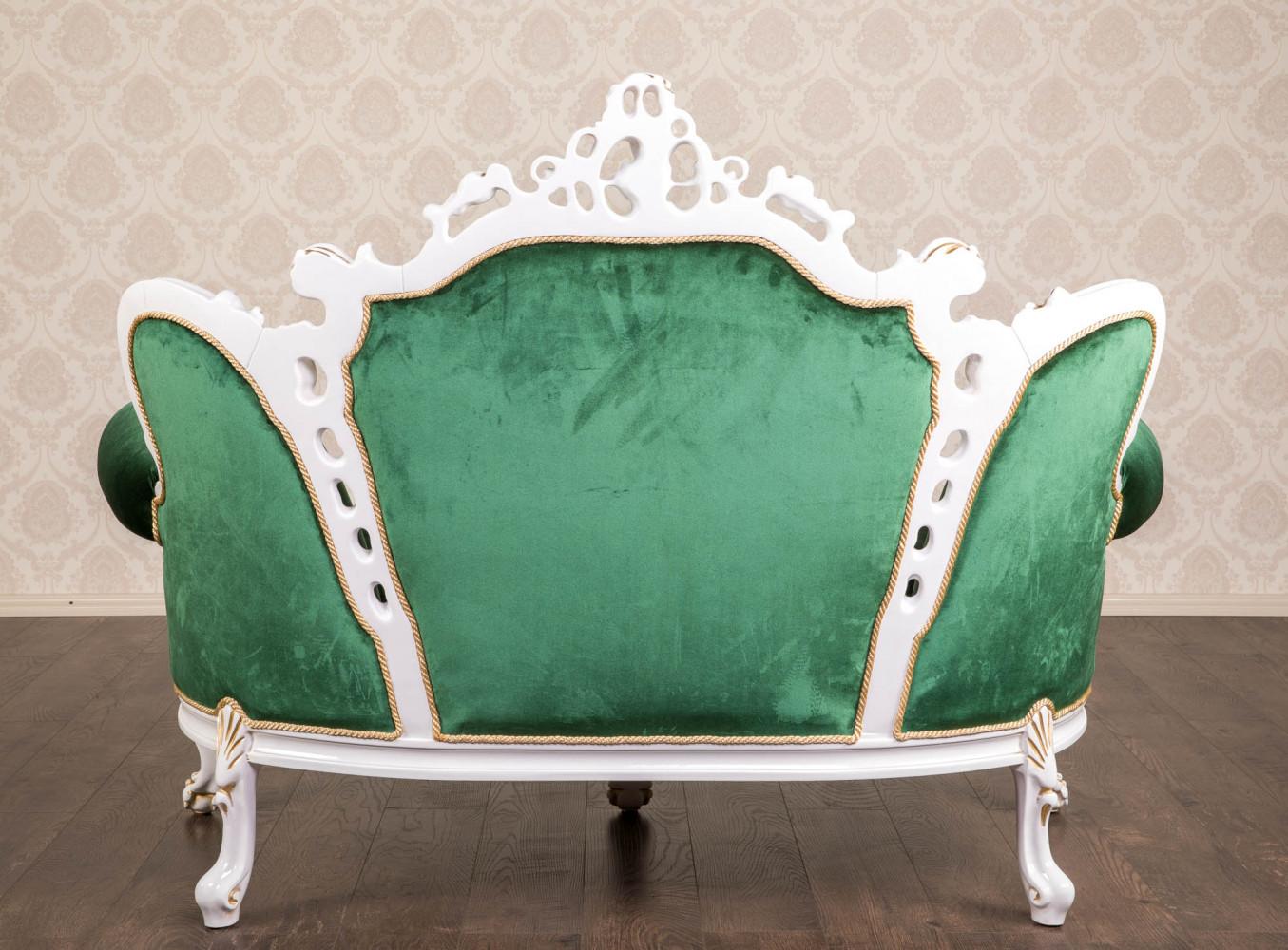 """Двомісний диван в стилі барокко """"Ізабелла"""" на замовлення"""