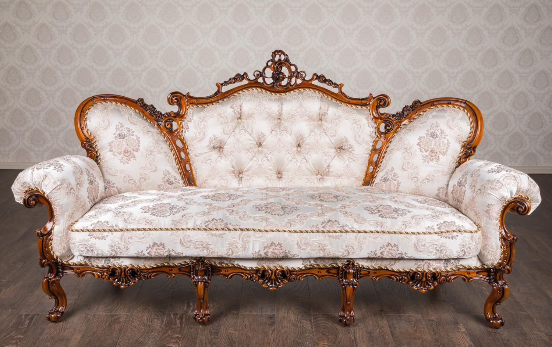 """Купити диван в стилі барокко """"Белла"""" на замовлення"""