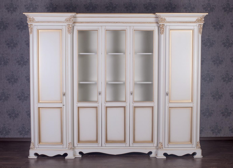 """Шкаф в гостиную """"Фридрих"""" из дерева, под заказ"""