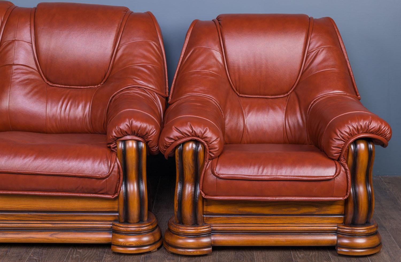 """Комплект мягкой мебели """"Гризли"""" с угловым диваном, в наличии"""