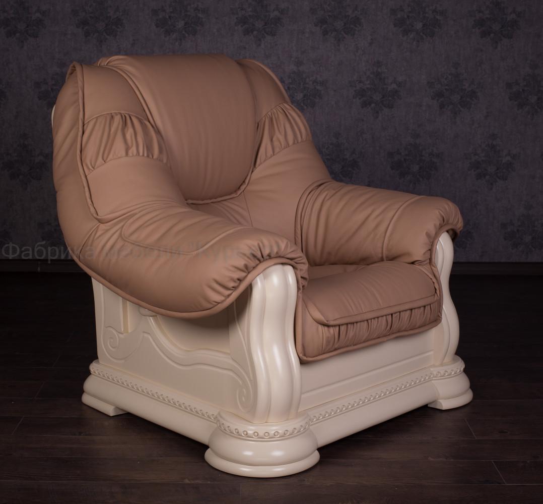 """Купить мягкое кресло в классическом стиле """"Гризли"""" на заказ"""