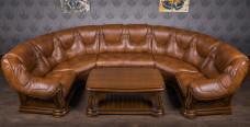 """П образный диван """"Гризли"""", на заказ"""
