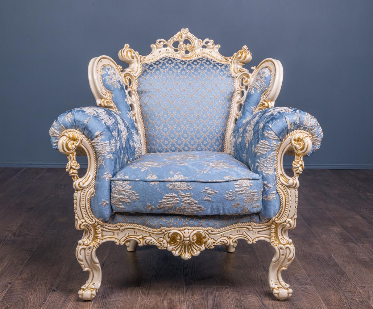 """Купити м'яке крісло в стилі бароко """"Ізабелла"""" на замовлення"""