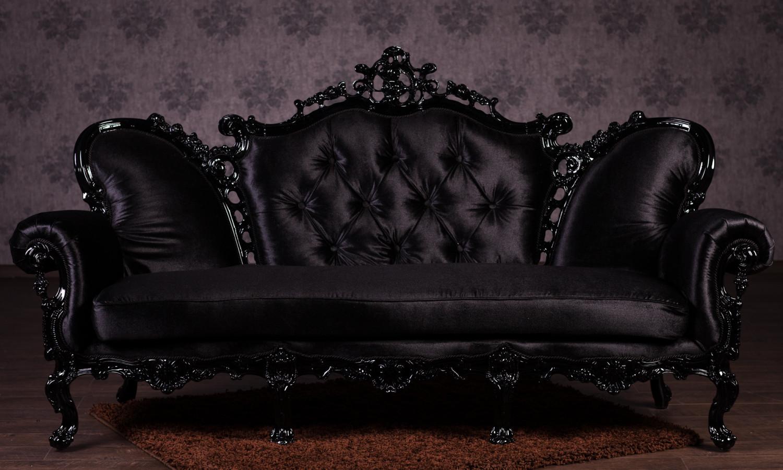 """Купить Прямой диван в стиле Барокко """"Изабелла"""" на заказ"""