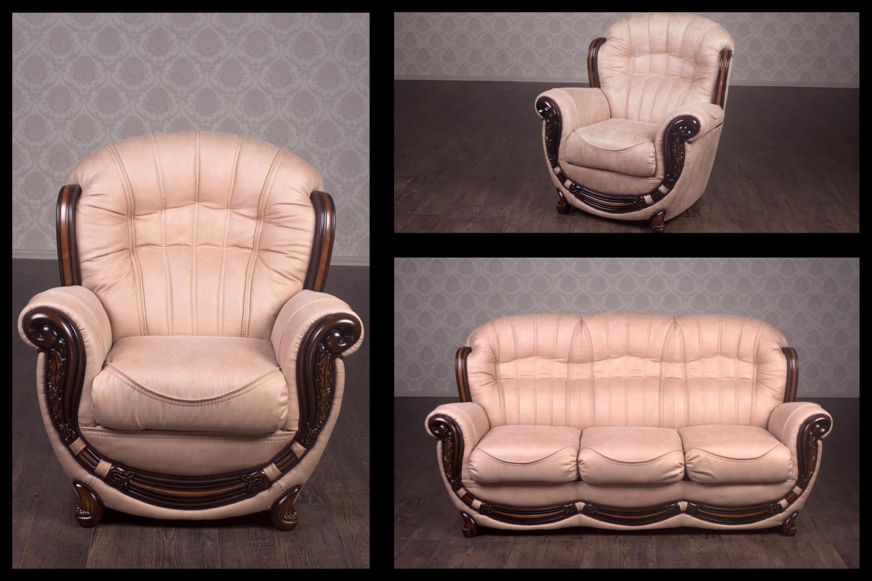 Купити комплект м'яких меблів Джове 3 + 1 + 1 В наявності (Антарес бейдж)