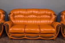"Кожаный диван ""Джове"", на заказ"