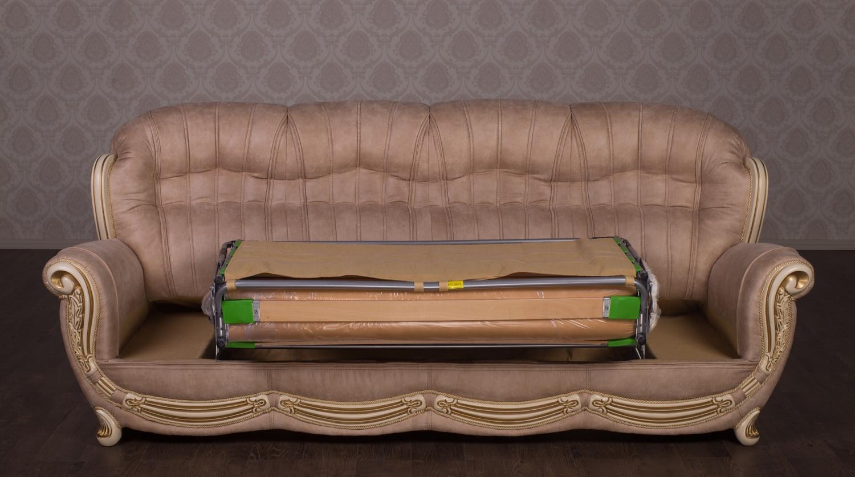 "Прямой четырехместный диван ""Джове"", на заказ"