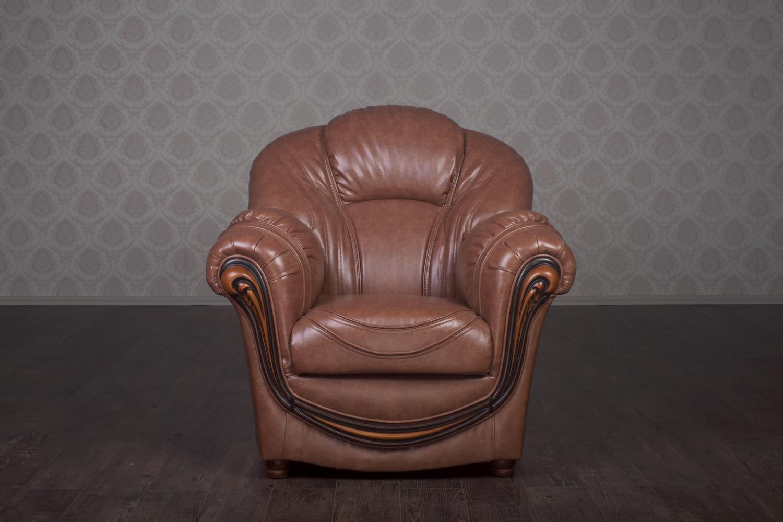 """Класичне м'яке крісло """"Мальта"""" під замовлення"""
