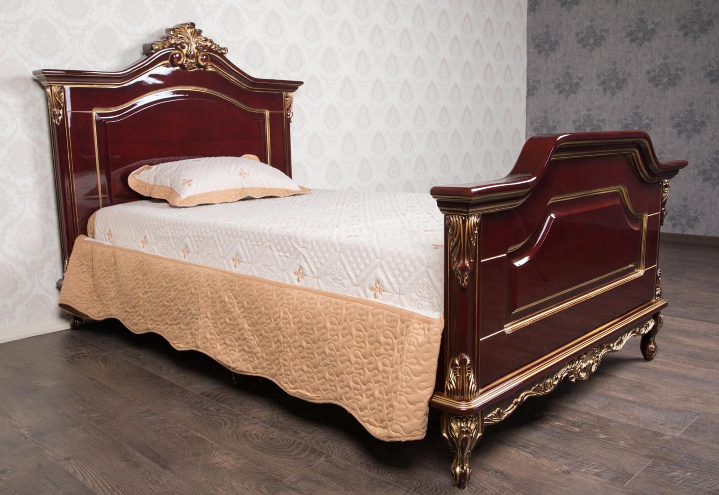 """Односпальная кровать из дерева """"Надежда"""" на заказ"""