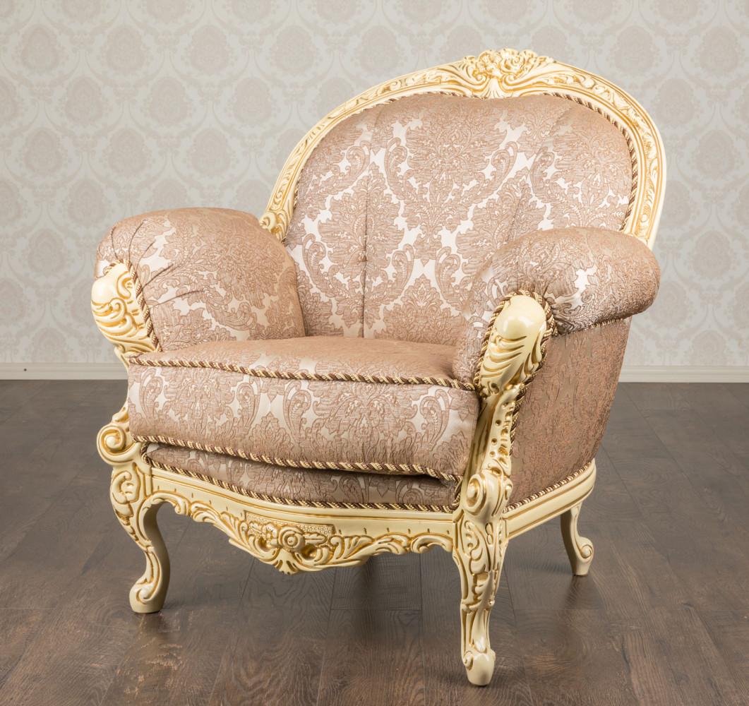 """Купити два м'які крісла в стилі Рококо """"Ніка"""", в наявності"""