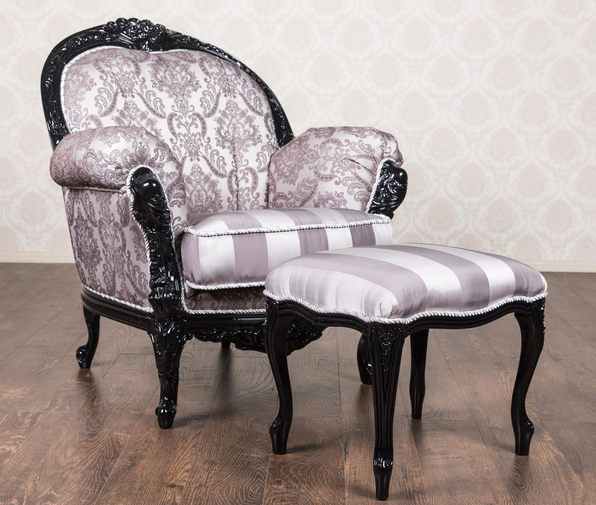 """Купити М'яке крісло в стилі бароко """"Ніка"""""""