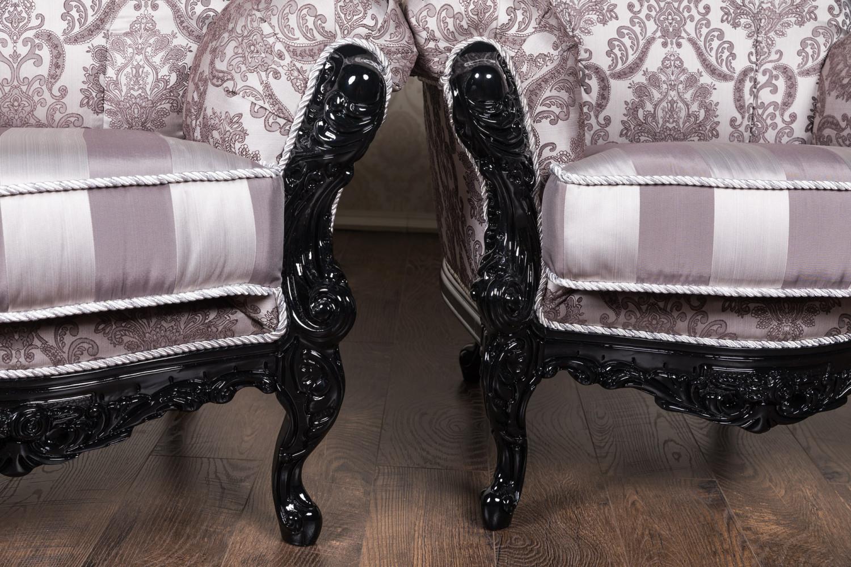 Комплект м'яких меблів в стилі Бароко нр. 2