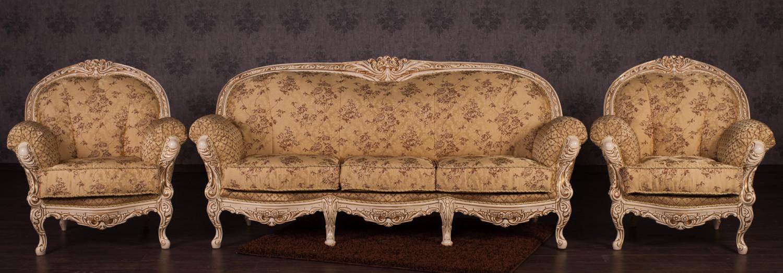 "Комплект мебели в стиле Рококо ""Ника"", под заказ"
