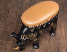 Пуф Носорог черный, В наличии