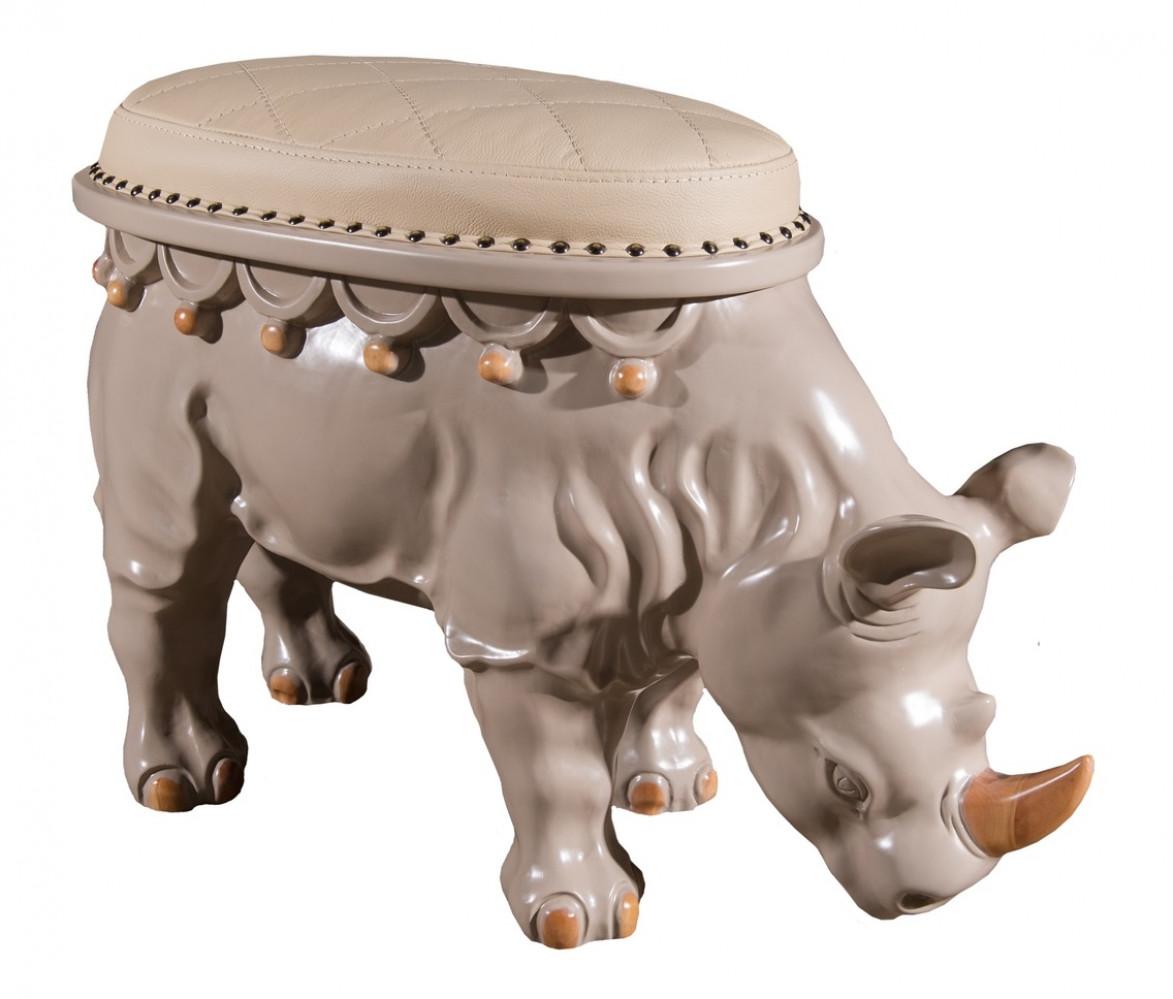 Мягкий пуф Носорог