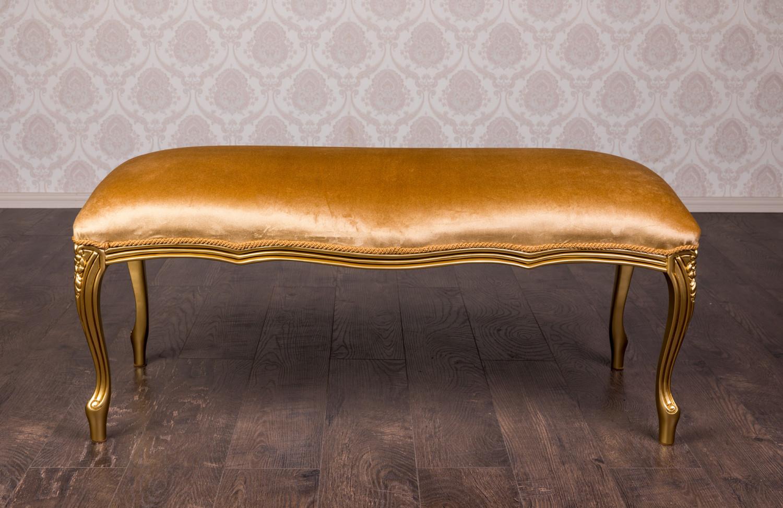 """Купить мягкий пуф """"№6"""" в классическом стиле - Фабрика мебели """"Курьер"""""""