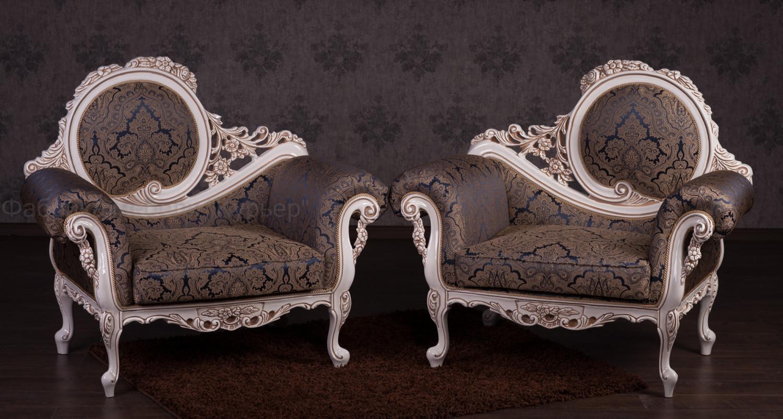 Комплект мягкой мебели в стиле барокко Софа