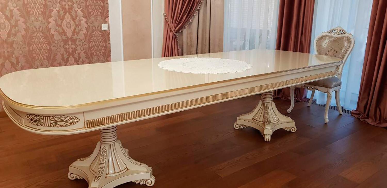"""Обеденный стол из ясеня """"Нр. 21"""" на заказ"""