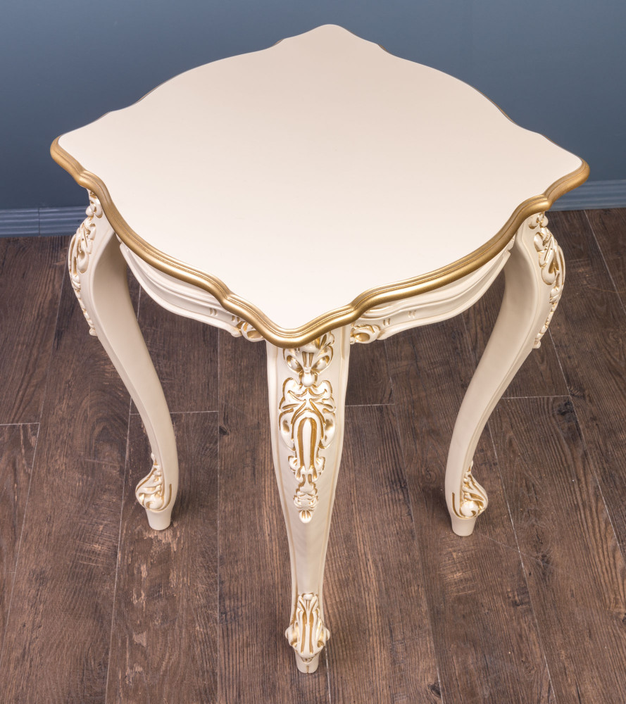 Різьблений столик в стилі Бароко №20, на замовлення