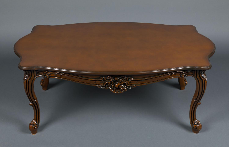 Купить журнальный столик в стиле Барокко №5 из натурального дерева