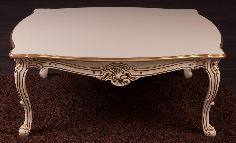 Купити столик в стилі Бароко №6 з натурального дерева