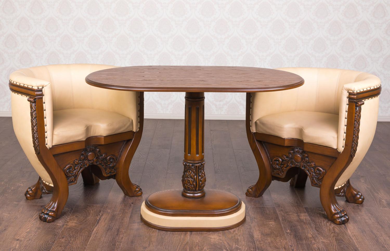 """Купить комплект мягкой мебели Стол и два кресла """"Тет-А-Тет"""", в Наличии"""
