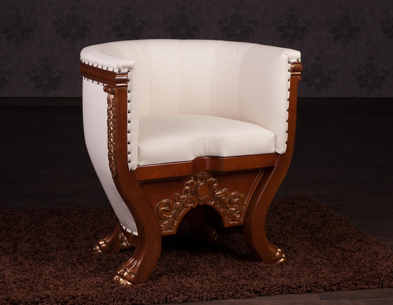 """Купить мягкое кресло """"Тет"""" в имперском стиле под заказ"""