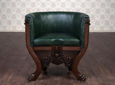 """М'яке крісло в імперському стилі """"Тет"""", під замовлення"""
