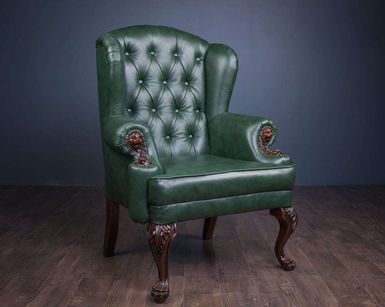 """Класичні м'які меблі """"Вальтер"""", дивани і крісло"""
