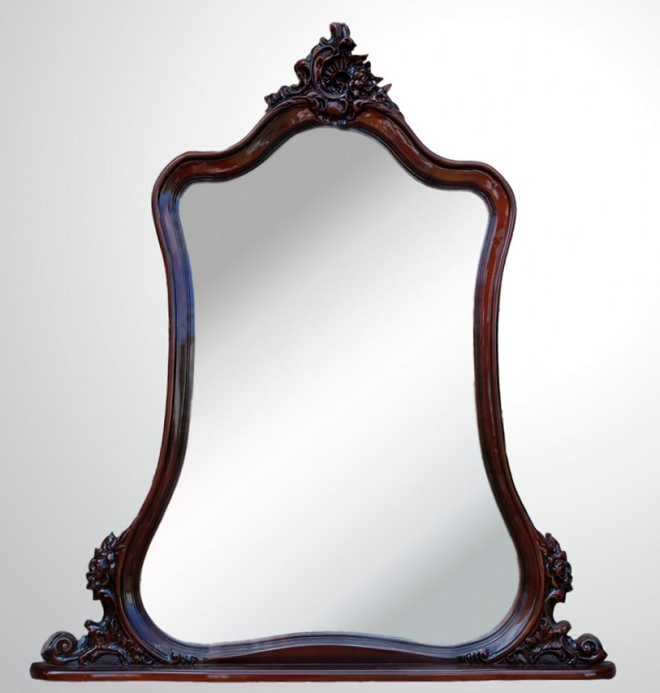"""Купить консольное зеркало """"Груша"""" из натурального дерева"""