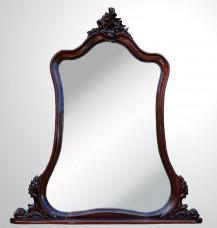 """Консольное зеркало """"Груша"""" из дерева"""